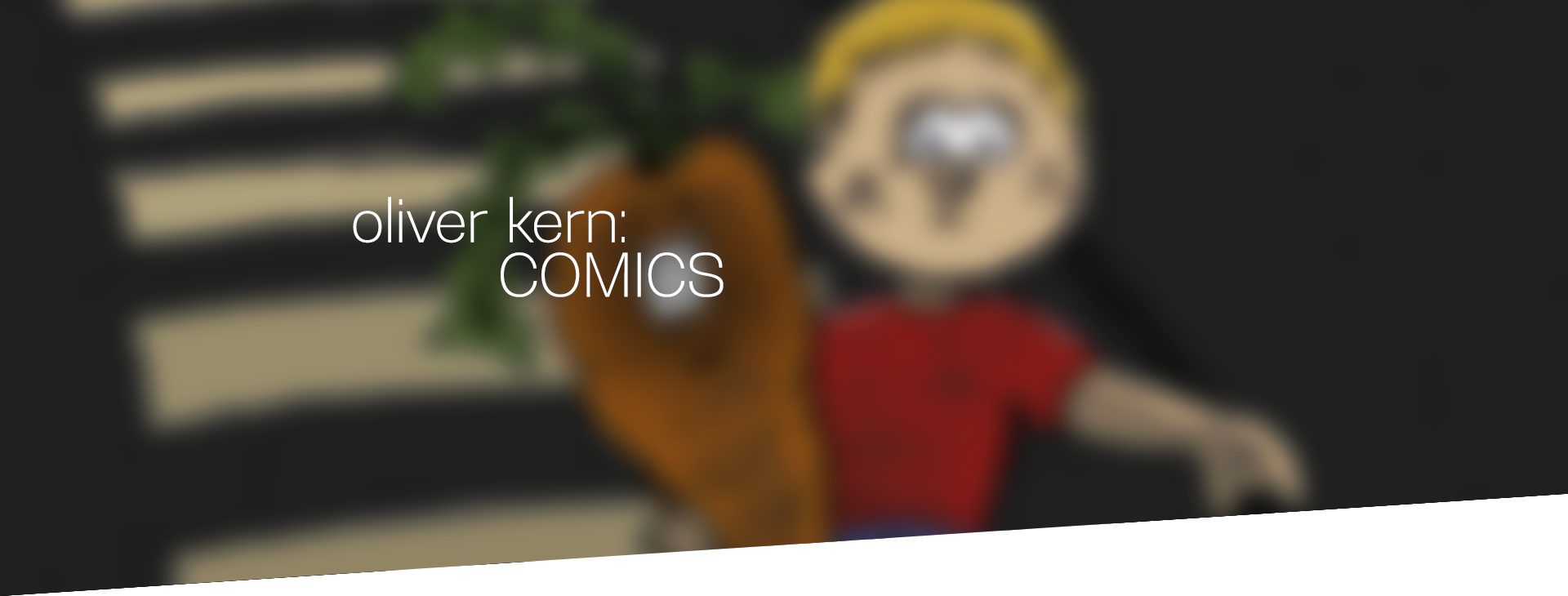oliver kern comics header
